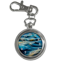 Ocean Waves Key Chain Watches