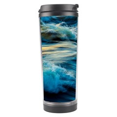 Ocean Waves Travel Tumbler by WensdaiAddamns