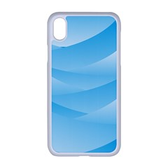 Waves Background Apple Iphone Xr Seamless Case (white)