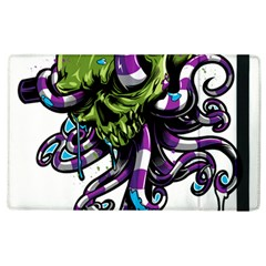 Tentacle Skull Apple Ipad 2 Flip Case