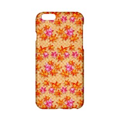 Star Leaf Autumnal Leaves Apple Iphone 6/6s Hardshell Case
