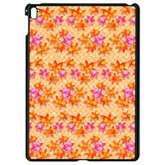 Star Leaf Autumnal Leaves Apple Ipad Pro 9 7   Black Seamless Case