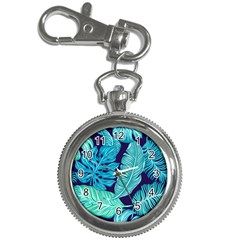 Tropical Greens Leaves Banana Key Chain Watches