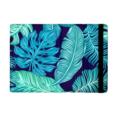 Tropical Greens Leaves Banana Ipad Mini 2 Flip Cases by Mariart