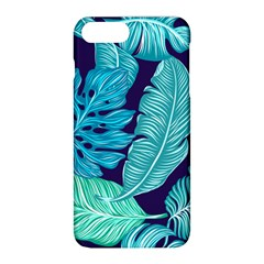 Tropical Greens Leaves Banana Apple Iphone 8 Plus Hardshell Case