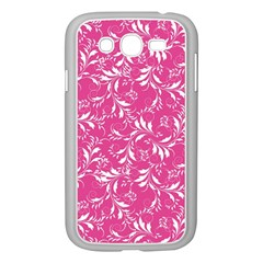 Fancy Floral Pattern Samsung Galaxy Grand Duos I9082 Case (white)