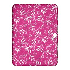 Fancy Floral Pattern Samsung Galaxy Tab 4 (10 1 ) Hardshell Case