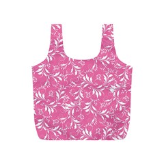 Fancy Floral Pattern Full Print Recycle Bag (s)