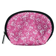 Fancy Floral Pattern Accessory Pouch (medium)