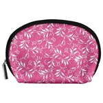 Fancy Floral Pattern Accessory Pouch (Large) Front
