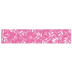 Fancy Floral Pattern Small Flano Scarf