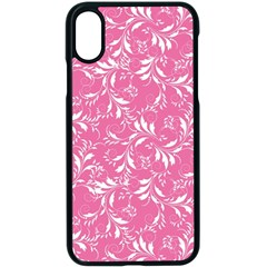 Fancy Floral Pattern Apple Iphone X Seamless Case (black)