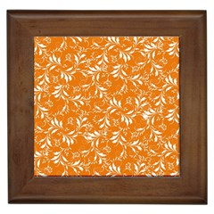 Fancy Floral Pattern Framed Tiles