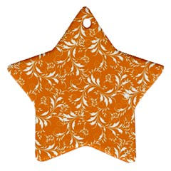 Fancy Floral Pattern Ornament (star)