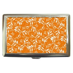 Fancy Floral Pattern Cigarette Money Case