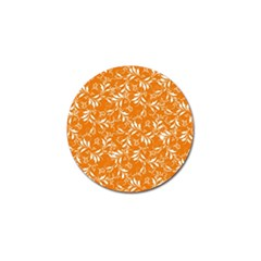 Fancy Floral Pattern Golf Ball Marker (4 Pack)
