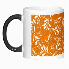 Fancy Floral Pattern Morph Mugs