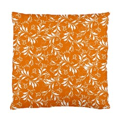 Fancy Floral Pattern Standard Cushion Case (one Side)