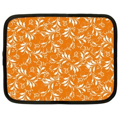 Fancy Floral Pattern Netbook Case (xl)