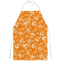 Fancy Floral Pattern Full Print Aprons