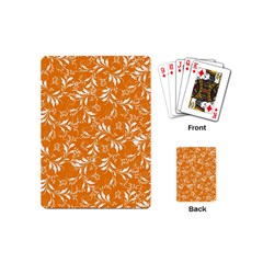 Fancy Floral Pattern Playing Cards (mini)