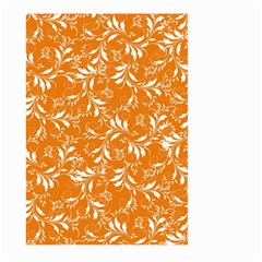 Fancy Floral Pattern Large Garden Flag (two Sides)
