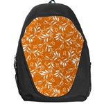 Fancy Floral Pattern Backpack Bag Front