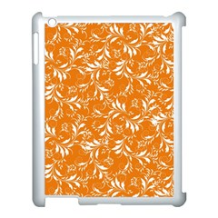 Fancy Floral Pattern Apple Ipad 3/4 Case (white)