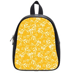 Fancy Floral Pattern School Bag (small)