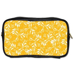 Fancy Floral Pattern Toiletries Bag (two Sides) by tarastyle