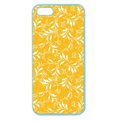 Fancy Floral Pattern Apple Seamless Iphone 5 Case (color)