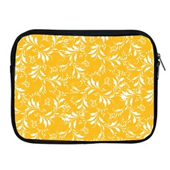 Fancy Floral Pattern Apple Ipad 2/3/4 Zipper Cases