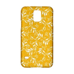 Fancy Floral Pattern Samsung Galaxy S5 Hardshell Case