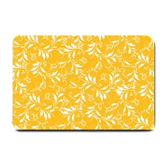 Fancy Floral Pattern Small Doormat