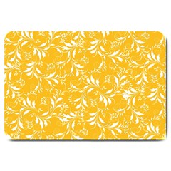 Fancy Floral Pattern Large Doormat