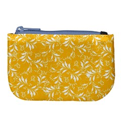 Fancy Floral Pattern Large Coin Purse