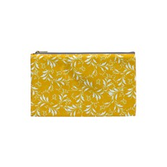 Fancy Floral Pattern Cosmetic Bag (small)