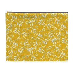 Fancy Floral Pattern Cosmetic Bag (xl)