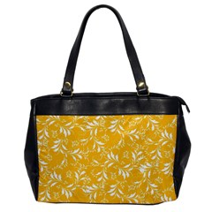 Fancy Floral Pattern Oversize Office Handbag