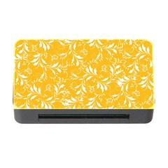 Fancy Floral Pattern Memory Card Reader With Cf