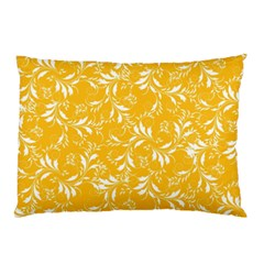 Fancy Floral Pattern Pillow Case (two Sides)