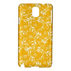 Fancy Floral Pattern Samsung Galaxy Note 3 N9005 Hardshell Case