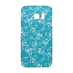 Fancy Floral Pattern Samsung Galaxy S6 Edge Hardshell Case