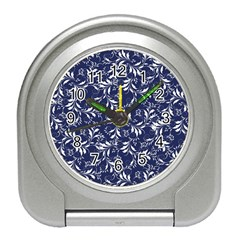Fancy Floral Pattern Travel Alarm Clock