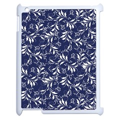 Fancy Floral Pattern Apple Ipad 2 Case (white)
