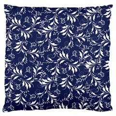 Fancy Floral Pattern Large Cushion Case (one Side)