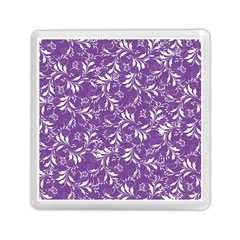 Fancy Floral Pattern Memory Card Reader (square) by tarastyle