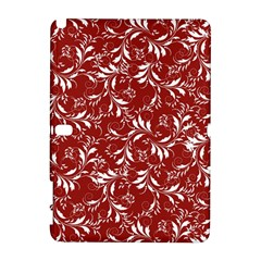 Fancy Floral Pattern Samsung Galaxy Note 10 1 (p600) Hardshell Case by tarastyle