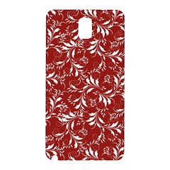 Fancy Floral Pattern Samsung Galaxy Note 3 N9005 Hardshell Back Case by tarastyle