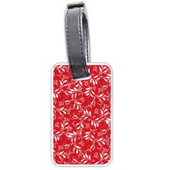Fancy Floral Pattern Luggage Tags (one Side)